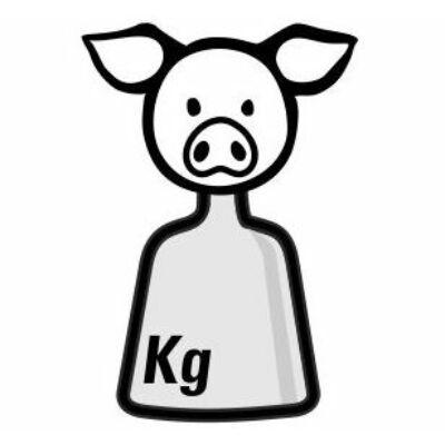 Malac hátsó negyed csontos 2,5 kg/db