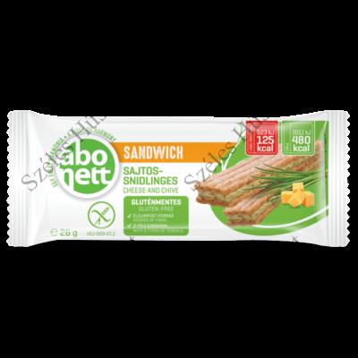 Abonett szendvics 26g (SAJT-SNIDLING)