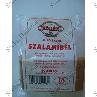 Szalámibél 10 méter/csomag 40 Collagén