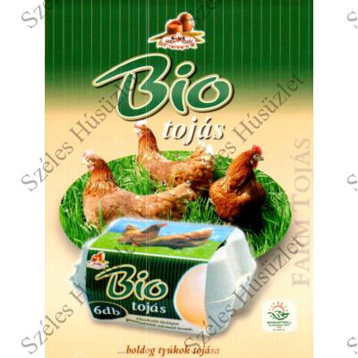 Bio Tojás 6 db/csomag