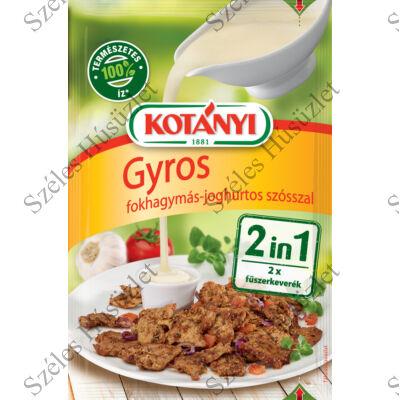Kotányi 2in1 FK. Gyros joghurtos szósszal 37g