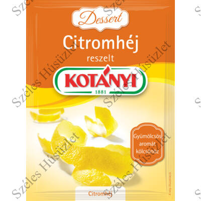 Kotányi Citromhéj 14g (reszelt)