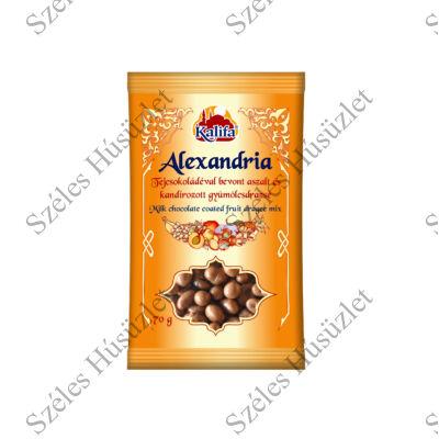 KALIFA Alexandria tejcsokoládés mediterrán mix 70g