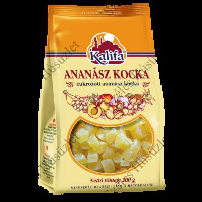 KALIFA ananászkocka (cukrozott) 200g