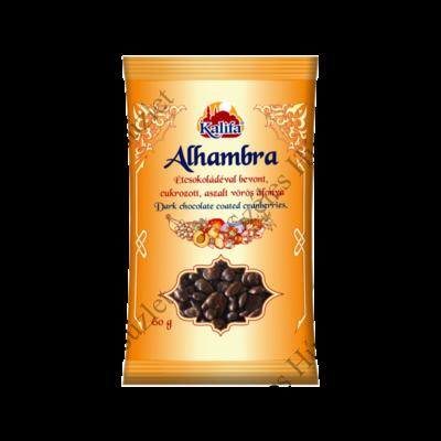 KALIFA Alhambra étcsokoládés aszalt vörös áfonya 60g