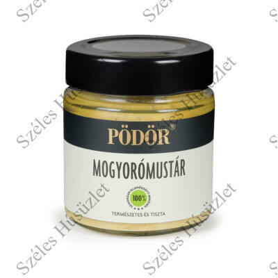 PÖDÖR Mustár (Mogyoró) 130g