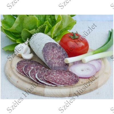 SZ.Bivaly szalámi (nemespenészes) (CSEMEGE) 0,5 kg/rúd