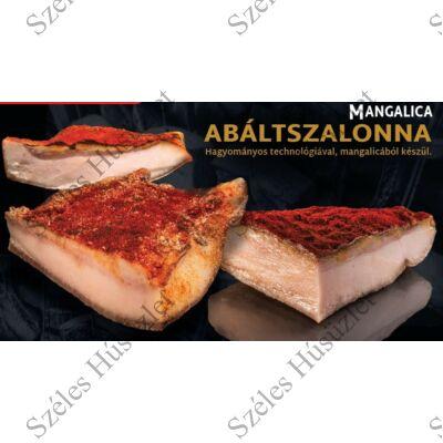 SZ.Mangalica Abált szalonna (CSÍPŐS)  0,5 kg/csomag