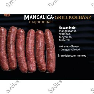 SZ.Mangalica Grillkolbász (MAJORANNÁS) 0,25 kg/csomag