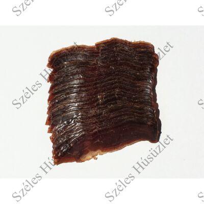 SZ.Szürkemarha (pácolt,érlelt,füstölt) Hátszín (SZELETELT) 100 g/csomag