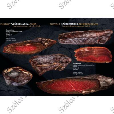 SZ.Szürkemarha (pácolt,érlelt,füstölt) Fehérpecsenye (SZELETELT) 100 g/csomag