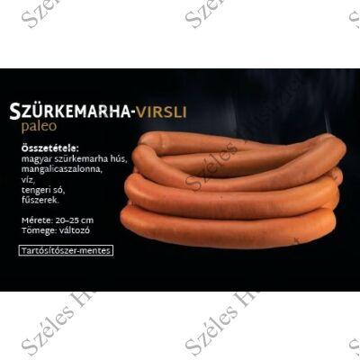 SZ.Szürkemarha Virsli (PALEO) 300 g/csomag Fagyasztott