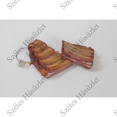 Bio Füstölt Bordacsont - Nitrit-mentes, 0,5 kg/csomag