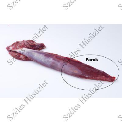 Szürkemarha Vesepecsenye Farok 0,8 kg/csomag